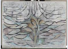 Piet Mondriaan - Bloeiende appelboom (1912) | Gemeentemuseum Den Haag De Stijl