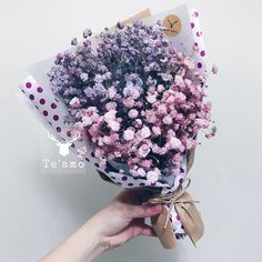 Baby's Breath bouquets / by teamo - my  #babybreath