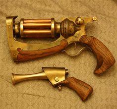 Steampunk Gun by Shendorion