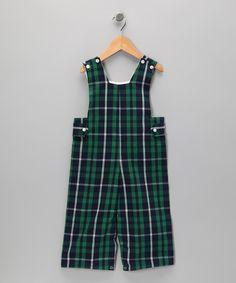 Tartan Plaid Overalls - Infant, Toddler & Boys