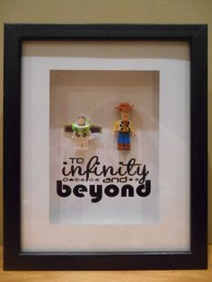 Toy Story Lego Shadowbox! To infinity and beyond - on Etsy