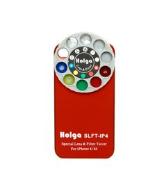 HOLGA写真が撮れるiPhoneケース。おもしろそう。