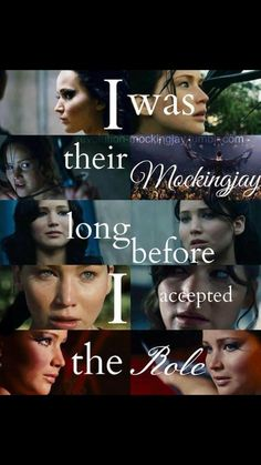 The Mockingjay led the rebellion and her people to victory.