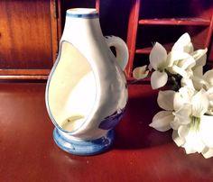 Delft'Blue Made in Holland Tea Light Candle Holder or Incense Burner by VintageEves on Etsy