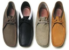 [Wu-Tang Clan & Clark Wallabees] As you can see, Wallabees come in many different colors and materials.