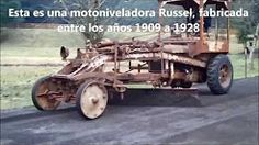 motoniveladoras antiguas - YouTube