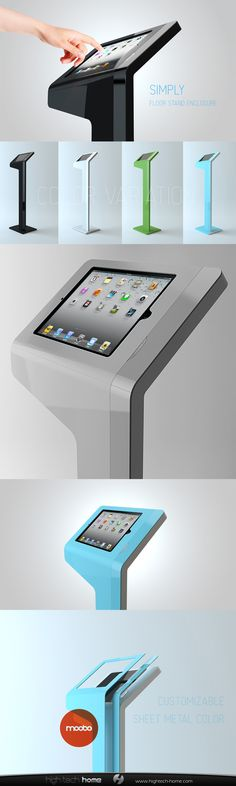 40 Best DESIGN IPAD DISPLAY Images On Pinterest Digital Signage Awesome Ipad Stands For Retail Display