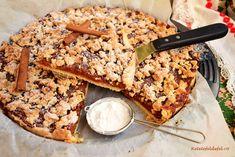 Tartă rustică cu mere și crumble cu migdale - Rețete Fel de Fel Banana Bread, Desserts, Food, Tailgate Desserts, Deserts, Essen, Postres, Meals, Dessert