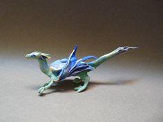 Green Blue Dragon, Creatures From El (Etsy).