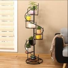 Iron Flower Stand Flower Rack Display Shelf Plant Stand Planter Flower Shelf Plant Rack Multi-Storey Balcony Living Room with Meaty Plants-A Small Flower Pots, Flower Planters, Plant Shelves, Display Shelves, Bonsai, Corner Plant, Wood Plant Stand, Plant Stands, Balcony Flowers
