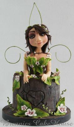 Spring Girl - Cake by Brenda Bakker