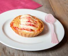 Tartelettes aux pommes, amandes et pralines roses