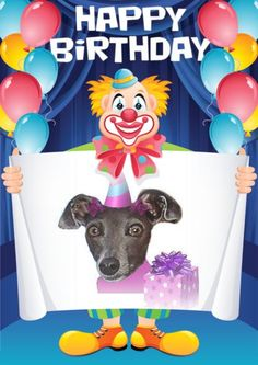 PhotoMania birthday | This photo was created by using Birthday Clown ... | SCwSG Team Ph...