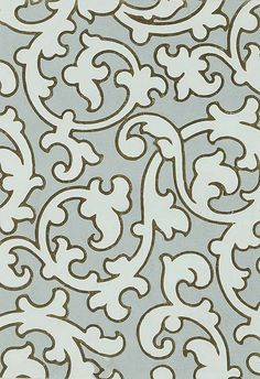 William Woollams and Co. Block wallpaper design, 1851 ... make this into a stencil for Alabama Chanin dress!