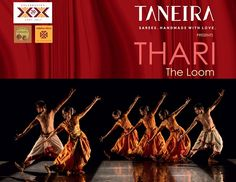 Thari- The Loom is a group production exploring the design and play of thread. The concept & choreography is by Malavika Sarukkai.