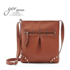 vintage rivet leather handbags hotsale ladies party purse envelope wallet beach ofertas women crossbody shoulder messenger bags