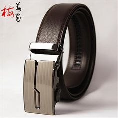 Aliexpress.com : Buy 2016 New Designer  Genuine Leather Belts For Men Fashion Brand Automatic Belts 130cm Stylish Black Hombre Waistband Strap from Reliable leather belts no buckle suppliers on YanYang International Company Ltd. Men's Fashion Brands, Men Fashion, Leather Belts, News Design, Waist Belts, Stylish, Stuff To Buy, Accessories, Black