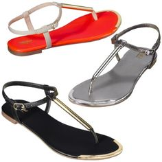 Women's Mossimo® Falk Thong Sandal - Assorted Colors.  LOVE THEM!