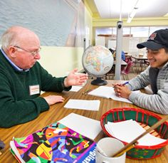Tragedy in parishioner Jerry Schreiber's life led to his long-term volunteerism in the Hispanic community, which includes teaching Latino immigrants English for 17 years