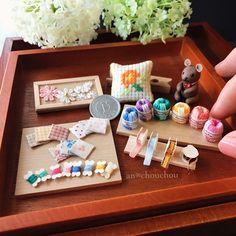 2017. Miniature Sewing Set ♡ ♡ By an chouchou