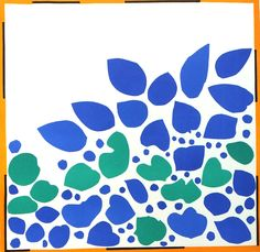 HENRI MATISSE<br>Title ~ Lierre <br>Original Lithograph from Last Works (Cut-Outs)