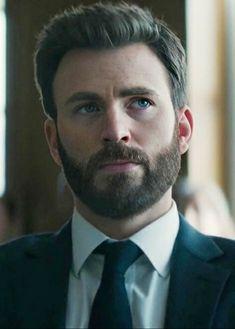Chris Evans Captain America, Marvel Captain America, Christopher Evans, Hot Beards, Beard Haircut, Taylor Kinney, Robert Evans, Patrick Dempsey, Matthew Mcconaughey