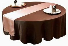 These elegant #table #runners would work great in my #dining room to bring out my other colors in the room. It would also be a great way to decorate for the different seasons.   http://www.tableclothsfactory.com/Satin-Table-Runner-tablecloths-table-linens-s/68.htm