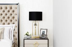 chic bedroom How to create a glamorous and sophisticated interior : elegant luxurious stunning and sophisticated chic interiors: bedroom design Cheap Furniture, Luxury Furniture, Bedside Table Design, Bedside Tables, Luxury Homes Interior, Interior Design, Classic Bedroom Furniture, Modern Classic Interior, Sofa And Chair Company