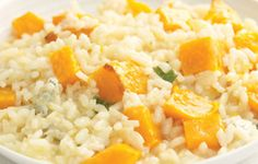 How to make Squash, sage, and blue cheese risotto recipe - If you're not a fan of blue cheese, simply omit, and stir in freshly grated Parm. Pasta Recipes, Cooking Recipes, Rice Pasta, Quinoa Rice, Eat To Live, Fresh Fruits And Vegetables, Blue Cheese, Popular Recipes, Risotto