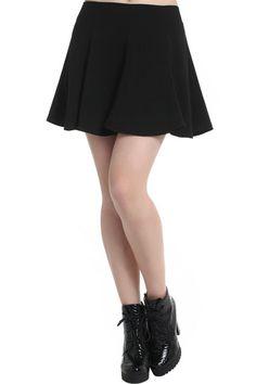 ROMWE | Retro Ruffle Black Skirt, The Latest Street Fashion  #ROMWE