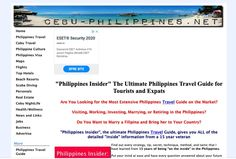 Philippines Travel Guide | rugaf Regions Of The Philippines, Philippines Travel Guide, Philippines Culture, Top Hotels, Cebu, Beach Resorts, Scuba Diving, Small Towns, Where To Go