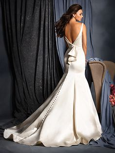 Style 2509 from All Bridal Collections - Back