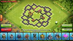 Clash of clans Town hall 8 Base design