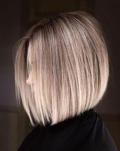 Easy Short Haircuts, Short Haircut Styles, Short Hair Cuts, Short Hairstyles, Modern Bob Hairstyles, Bob Hair Cuts, Short Blonde Haircuts, Hairstyle Short Hair, Modern Bob Haircut