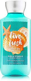 Signature Collection Live Fresh - Seaside Breeze Body Lotion - Bath And Body Works