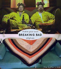 Breaking Bad Afghan || free crochet pattern
