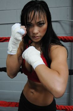 """Inspiration for Stephanie  Michelle Waterson """"The Karate Hottie"""""""