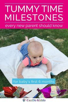 Tummy Time Milestone