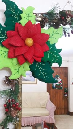 Christmas Pictures, Christmas Diy, Christmas Wreaths, Navidad Diy, Holiday Decor, Home Decor, Feltro, Scrappy Quilts, Amor