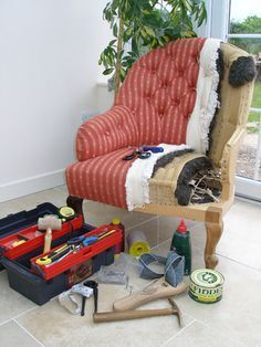 Fine 48 DIY Upholster Ideas To Decorate Your Space