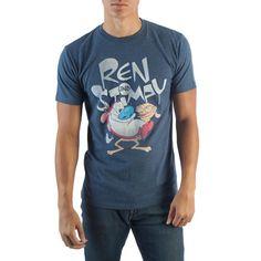 Ren & Stimpy Navy T-Shirt