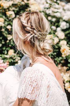 Hair updo, bohemian updo wedding, braids for wedding, boho braid, bohemia. Cool Braid Hairstyles, Bohemian Hairstyles, Best Wedding Hairstyles, Pretty Hairstyles, Black Hairstyles, Hair Updo, Hairstyle Ideas, Modern Hairstyles, Winter Hairstyles