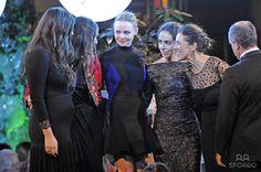 Tatiana Santo Domingo (left), Dana Alikhani and designer Stella McCartney at the Telva Fashion Awards 2012 at the Palace Hotel. Madrid, Spain - 06.11.12.