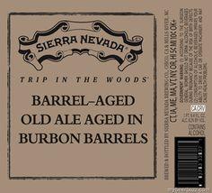 mybeerbuzz.com - Bringing Good Beers & Good People Together...: Sierra Nevada Trip In The Woods - Barrel-Aged Old ...