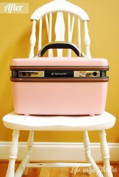 Old Travel Bag Redo via Life as a Thrifter