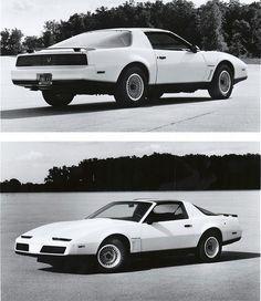 1983 Pontiac Firebird Trans Am Press Photos