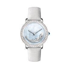 Watch Out - Boucheron white gold, mother-of-pearl, and diamond watch