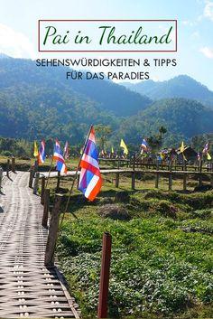 Pai in Thailand ist ein wahres Paradise. Neben entspannter Atmosphäre gibt es hier auch noch einige Destinations zu entdecken! Die besten Tips findest du in diesem Beitrag.