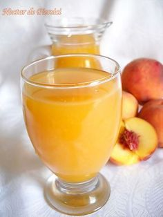 Nectar din piersici | Retete Culinare - Bucataresele Vesele Dessert Drinks, Desserts, Jacque Pepin, Romanian Food, I Foods, Punch Bowls, Smoothies, Beverages, Food And Drink