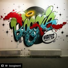 #Repost @boogiesml with @repostapp ・・・ Fast one for the exhibition last weekend. #boogiesml #boogienights #boysfromthewood #chemnitz #molotow